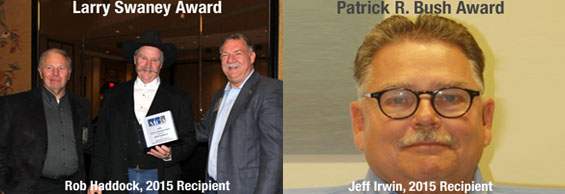 The Larry A. Swaney and Patrick R. Bush Volunteer Service Awards