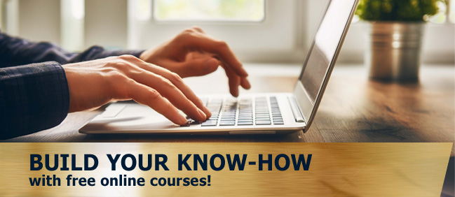 Build Your Know-How With Free Online Courses