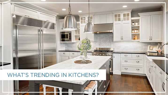 What's Trending In Kitchens?