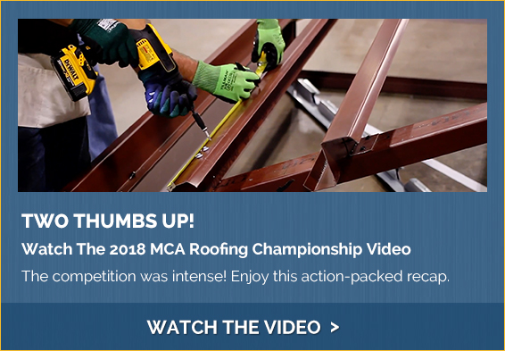 Watch The 2018 MCA Roofing Championship Video