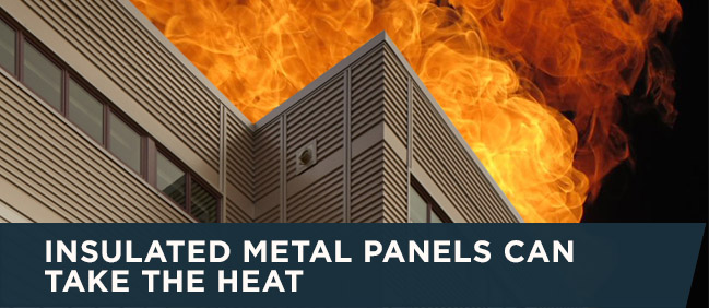 Insulated Metal Panels Can Take The Heat